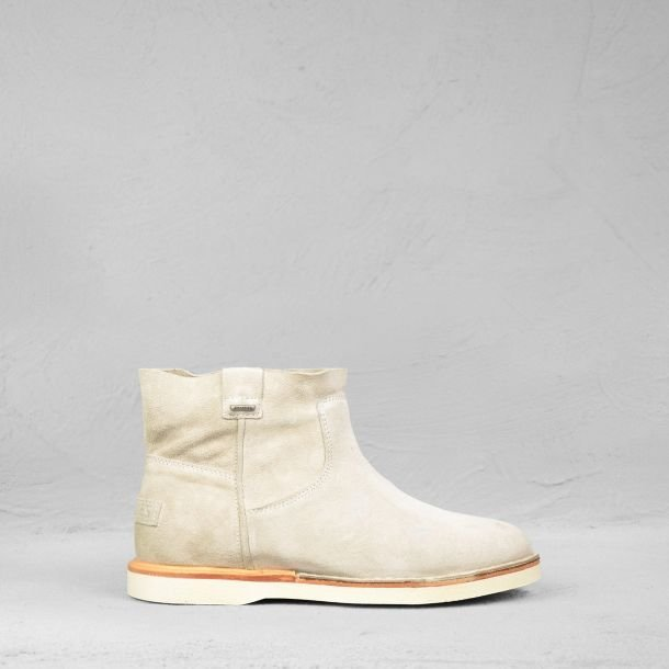 Ankle-boot-suede-white