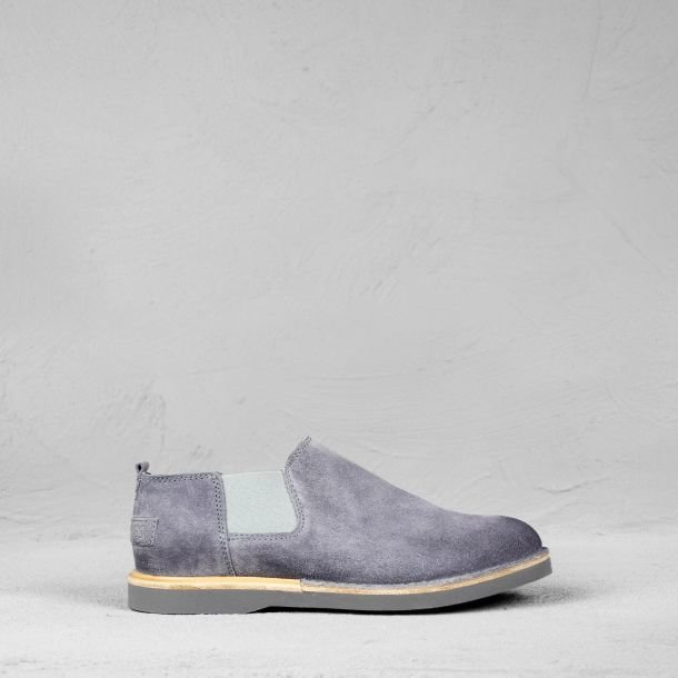 Chelseaboot suede Denim Blue