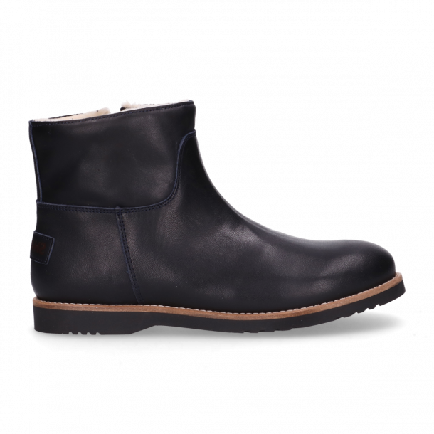 Kids-ankle-boot-polished-leather-Navy-Blue-28-35