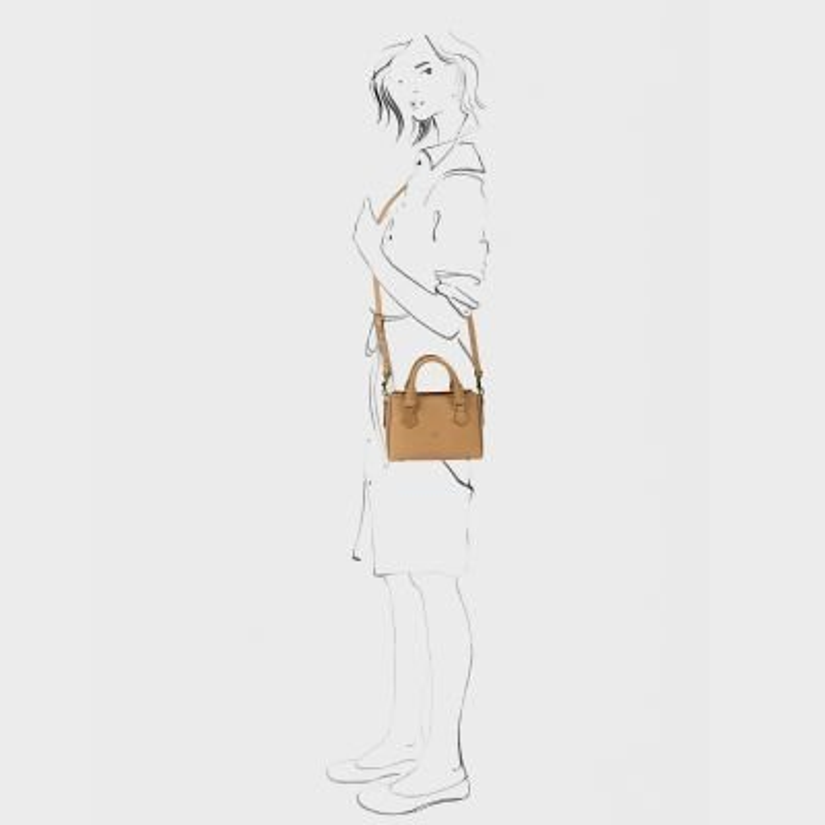 Handbag-natural-dyed-leather-Tan