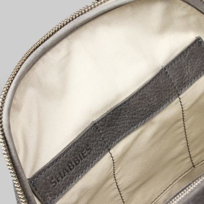Backpack-heavy-grain-leather-Taupe