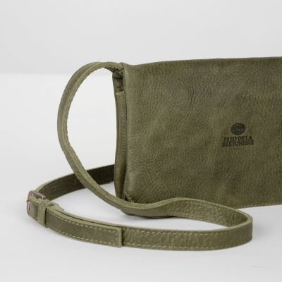 Cross-body-hand-buffed-leather-Olive