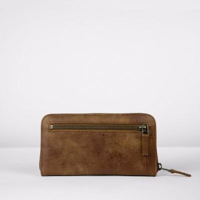 Wallet-hand-buffed-leather-Brown