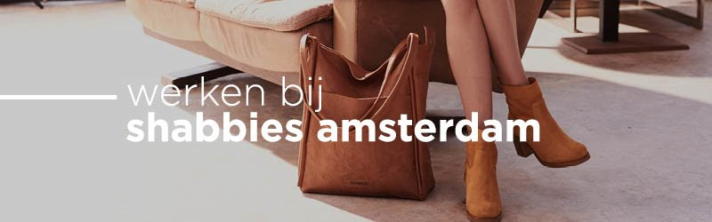Werken bij Shabbies Amsterdam